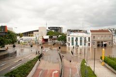 brisbane затопляет на юг Стоковое Фото