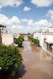 brisbane затопляет юг Квинсленда Стоковое фото RF