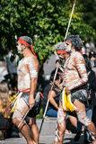 Brisbane Aborigional Zmuszający zamknięcie Marzec Obraz Stock