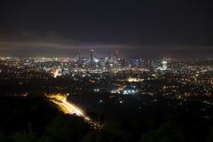 Brisbane alla notte dalla folaga Tha del supporto Immagine Stock Libera da Diritti