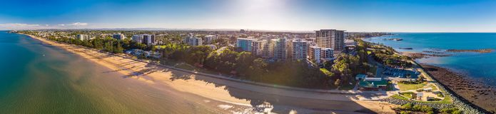 Free BRISBANE, AUS - MAY 13 2018: Panoramic Aerial Image Of Sutton Be Stock Photography - 118127652