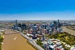 BRISBANE, AUSTRALIË - NOVEMBER 11 2014: Mening van Brisbane van ai Royalty-vrije Stock Afbeeldingen