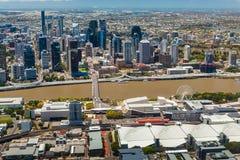 BRISBANE, AUSTRALIË - NOVEMBER 11 2014: Mening van Brisbane van ai Royalty-vrije Stock Foto