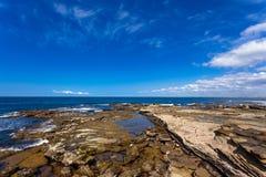 Brisbane, Australia coastline Royalty Free Stock Images