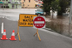 BRISBANE, AUSTRALIA - JAN 12 : Flood Royalty Free Stock Images