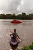 BRISBANE, AUSTRALIA - JAN 12 : Flood Stock Photos