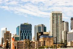 Brisbane, Australia - 2019. Travel photography of Brisbane city, Queensland, view over the business center. stock photography