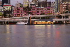 Brisbane, Australia - Tuesday 23rd June, 2015: View of Brisbane City in the afternoon from Southbank on Tuesday the 23rd June 2015 Royalty Free Stock Photo
