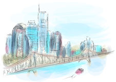 Brisbane Australie illustration stock