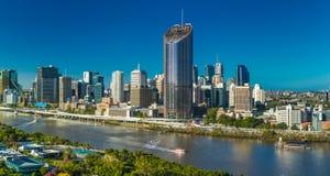 BRISBANE, AUSTRALIE - 29 décembre 2016 : Image régionale panoramique de Bris Image stock