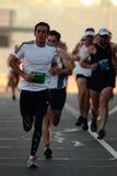 BRISBANE, AUSTRALIEN - 2. SEPTEMBER: Nicht identifizierte Läufer, die an teilnehmen stockbilder