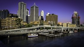 Brisbane a beautiful city Royalty Free Stock Photos