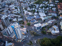 Brisbane Bird's eye view Stock Image