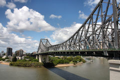 Brisbane bridge Stock Photo