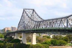 Brisbane bridge historię Zdjęcia Royalty Free