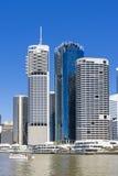 Brisbane CBD i dag Arkivbilder