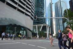 Brisbane CBD -Queensland Australia Royalty Free Stock Photos