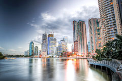Brisbane Central Business District, Australia Royalty Free Stock Photos