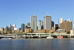 Brisbane central business district Royalty Free Stock Image