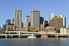 Brisbane central business district Stock Photo