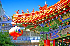 Brisbane Chinatown, Australie Photographie stock