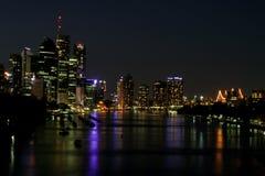 Brisbane City. Australia at night Stock Photo