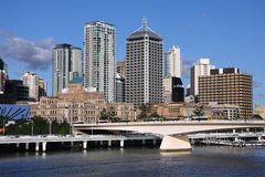 Brisbane city Stock Image