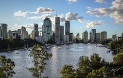 Brisbane City, Australia Royalty Free Stock Photos