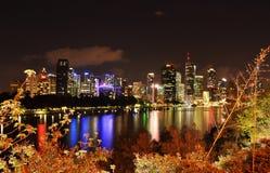 Brisbane City, Australia. View of Brisbane at night Stock Photos
