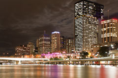 Brisbane city center Stock Photo
