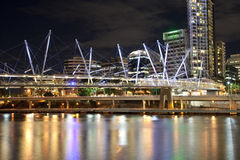 Brisbane city center Royalty Free Stock Images