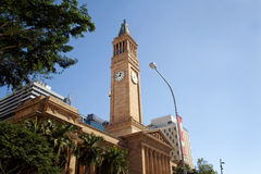 Brisbane City Hall Stock Image