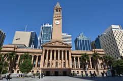 Brisbane City Hall - Queensland Australia Royalty Free Stock Images