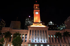 Brisbane City Hall - Queensland Australia Royalty Free Stock Photo