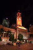 Brisbane City Hall - Queensland Australia Stock Photography