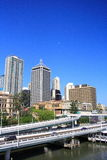 Brisbane City Highway Royalty Free Stock Photos