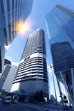 Brisbane City Modern Architecture Royalty Free Stock Images