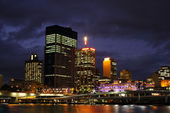 Brisbane City At Night Stock Photography