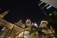 Brisbane city at night Royalty Free Stock Photo