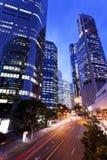 Brisbane city. Nights Royalty Free Stock Photography