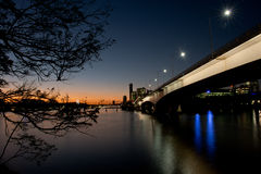 Brisbane city,QLD Australia Royalty Free Stock Photos