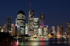 Brisbane City & River Royalty Free Stock Photography