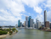 Brisbane City and River, Queensland, Australia Stock Images