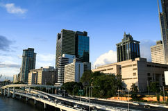 Brisbane City Skyline Australia Stock Images