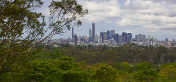 Brisbane City Skyline Stock Image
