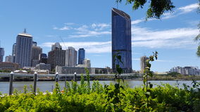 Brisbane City Skyline - New building Royalty Free Stock Photos