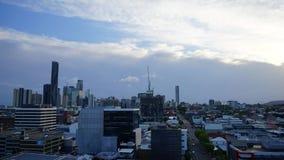 Brisbane city timelapse stock footage