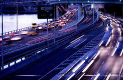 Brisbane city traffic Royalty Free Stock Photo