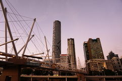 Brisbane city view Royalty Free Stock Photography