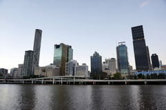 Brisbane city view Royalty Free Stock Images